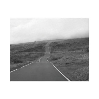 Lonely Road Gallery Wrapped Canvas