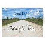 lonely Road Greeting Cards