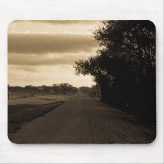 Lonely Road Mouse Pad