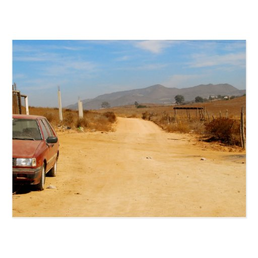 Lonely Road Postcard