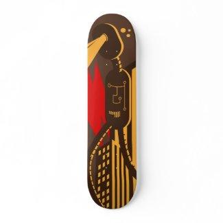 Lonely Robot skateboard