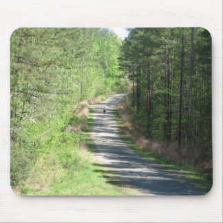 Lonely Runner Mouse Pad