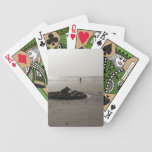 Lonely Sandcastle Bicycle Card Decks