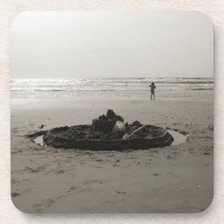 Lonely Sandcastle Coaster set