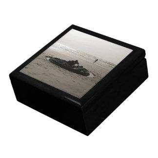 Lonely Sandcastle Trinket Boxes
