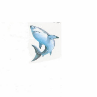 Lonely Shark Photo Cut Outs