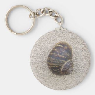 Lonely Snail on the Wall Keychain