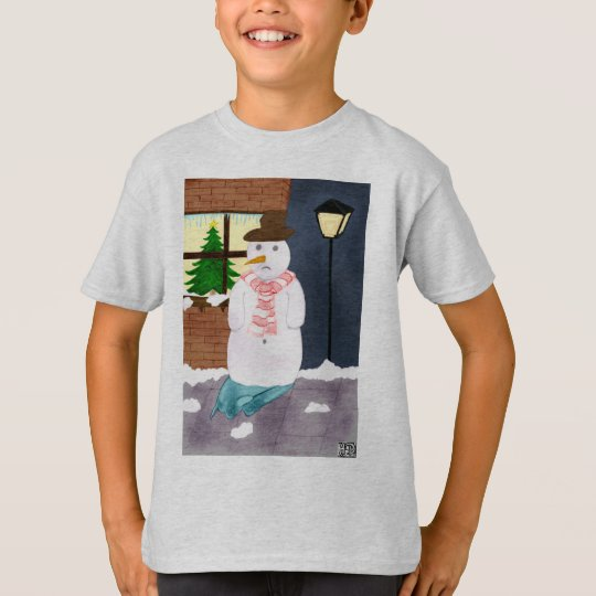 Lonely Snowman T-Shirt