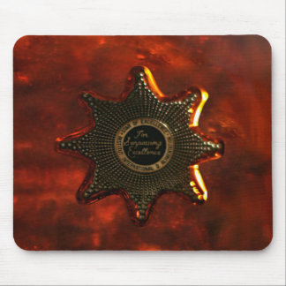 Lonely star vintage wild west mouse pad