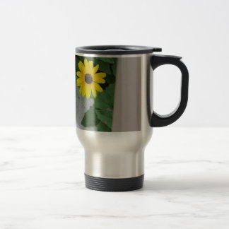 Lonely Sunflower Travel Mug