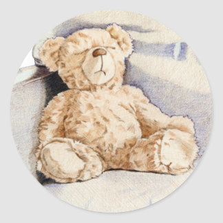 Lonely Teddy Sticker