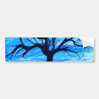 Lonely Tree Bumper Sticker