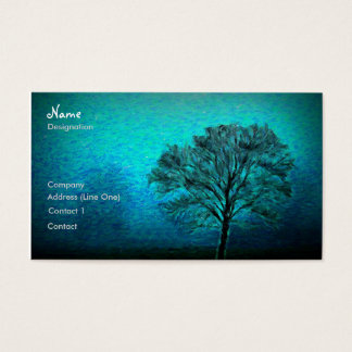 Lonely Tree Business Card