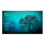 Lonely Tree Business Card Templates