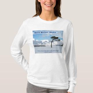 Lonely Tree, Dutch Harbor, Alaska T-Shirt