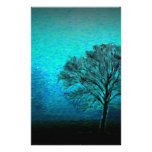 Lonely Tree Stationery Design