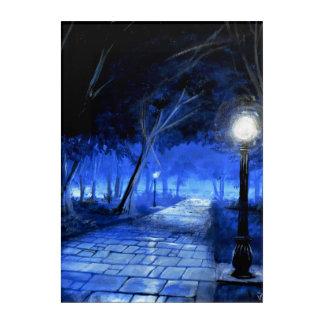 Lonely Walk - Solace Park Acrylic Wall Art