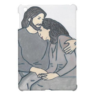 Lonely woman meets God Case For The iPad Mini