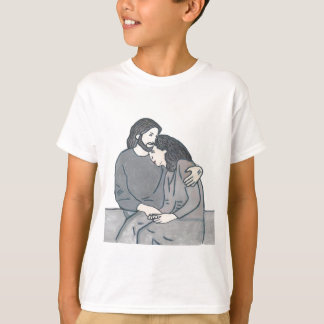 Lonely woman meets God T-Shirt