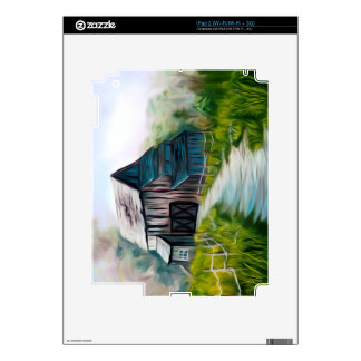 Lonely Wooden Barn Skin For The iPad 2