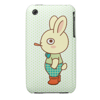 Loner Rabbit iPhone 3 Covers