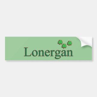 Lonergan Family Bumper Sticker