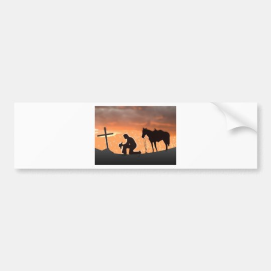 Lonesome Cowboy Bumper Sticker