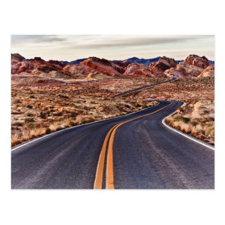 Lonesome Desert Highway Postcard
