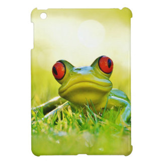 Lonesome Frog In The Grass iPad Mini Cases