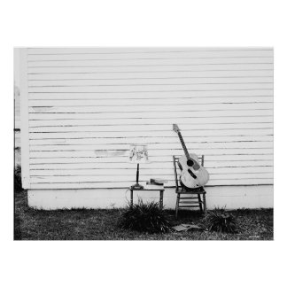 Lonesome Guitar Poster