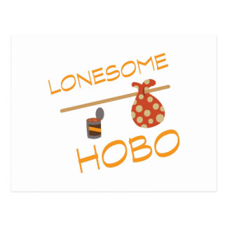 Lonesome Hobo Postcard