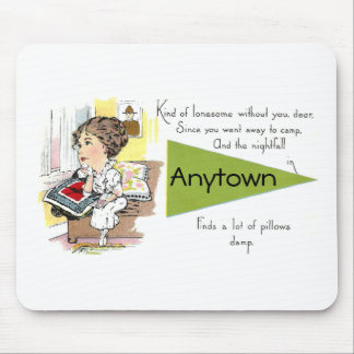 Lonesome Lady Missing Her Man Mouse Pad