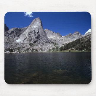 Lonesome Lake and Peaks Mousepad