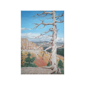 Lonesome Ridge Stretched Canvas Print