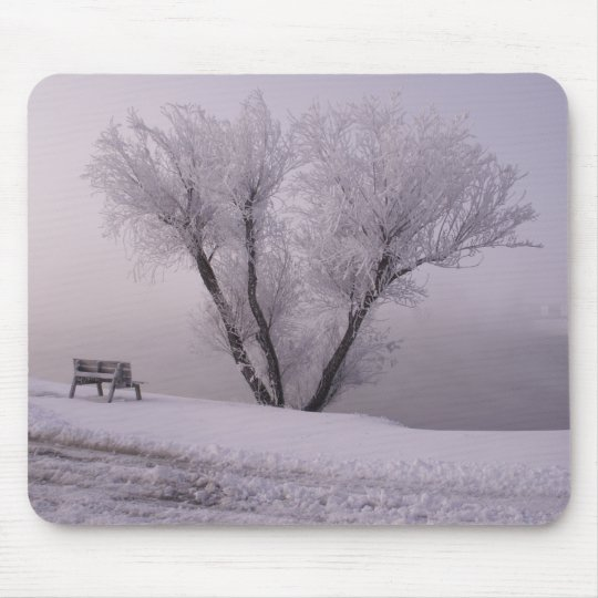 Lonesome Winter Mouse Pad
