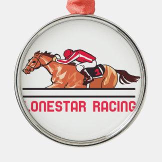 Lonestar Racing Metal Ornament