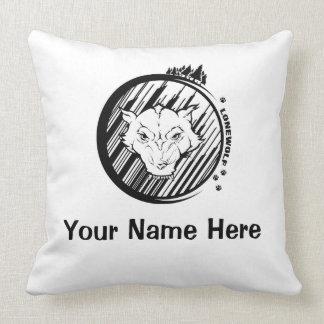 Lonewolf Customizable Throw Pillow 51 cm x 51 cm