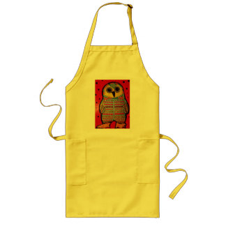 Long Apron with Hoot Owl