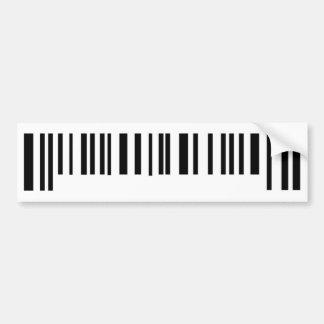 long bar code label icon