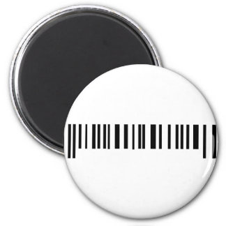 long bar code label icon magnet