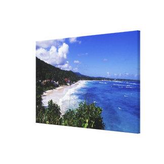 Long Bay, Port Antonio, Jamaica Canvas Print