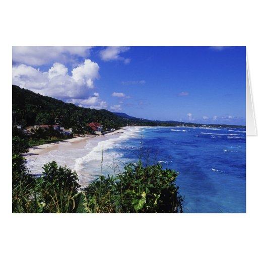 Long Bay, Port Antonio, Jamaica Card