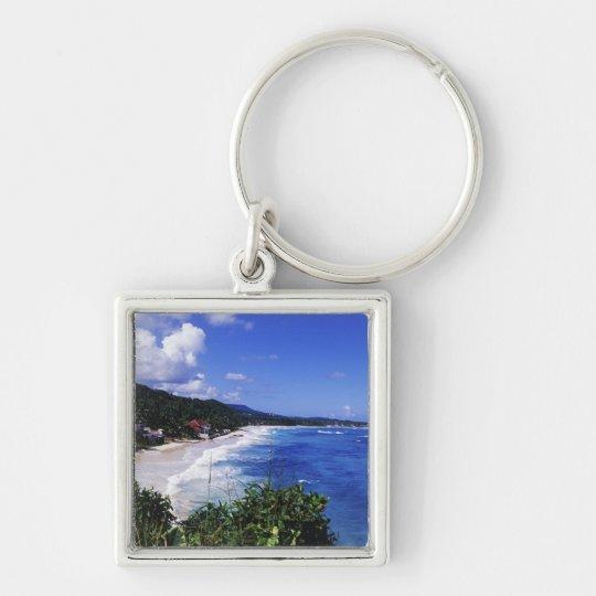 Long Bay, Port Antonio, Jamaica Keychain