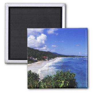Long Bay, Port Antonio, Jamaica Fridge Magnets