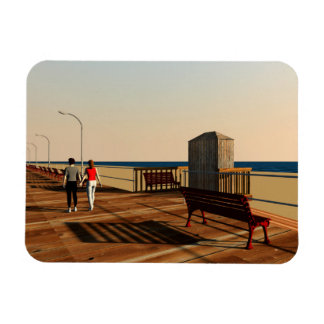 Long Beach Boardwalk, Long Island, New York Magnet