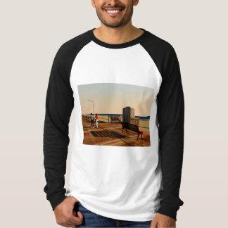 Long Beach Boardwalk, Long Island, New York T-Shirt
