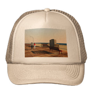 Long Beach Boardwalk, Long Island, New York Trucker Hat
