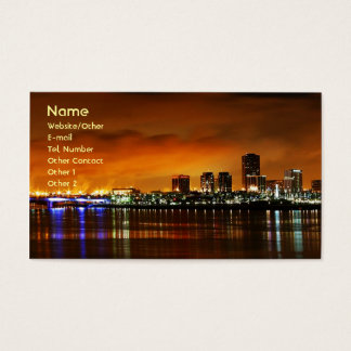 Long Beach Ca. Business Card