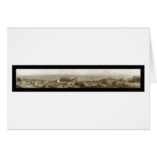 Long Beach CA Fleet Photo 1908 Card