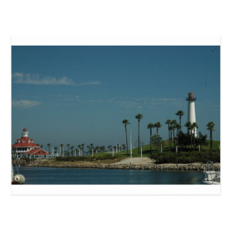 Long Beach, CA Postcard